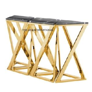 X Legs Console Table
