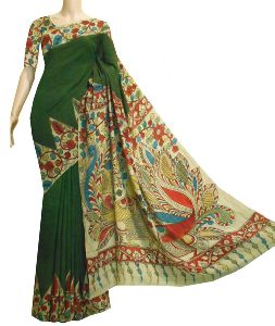 Ladies Kalamkari Saree