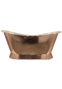 Full Copper Polish Bathtub