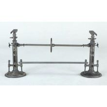 Industrial Vintage Heavy Cast Iron Crank Dining Table Legs Base