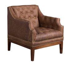 Leather Single Seat Sofa