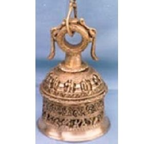 Brass Made Temple Hanging Bell
