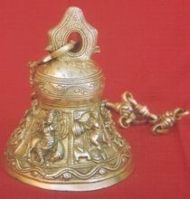 Hanging Brass Temple Bell