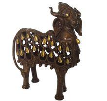 Nandi Designer Brass Made Statue