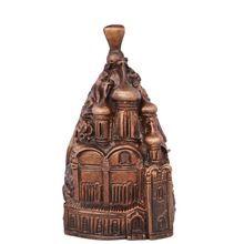 Russian Structure Shape Hand Bell Brass Metal