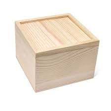 H T Wooden Box