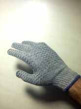 Poly Cotton Criss Cross Gloves