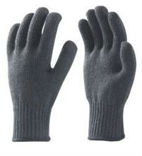 Poly-cotton Knitted Seamless Gloves