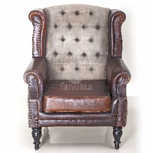 Handmade Leather Chair Sofa