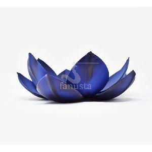 Iron Lotus Tealight Holder