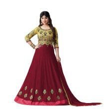Floor Length Semi-stitched Anarkali Suits