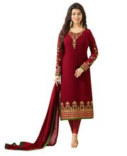 Georgette Embroidery Salwar Kameez Suits