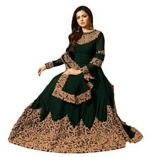 Georgette Gown Style Anarkali Suit