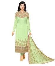Heavy Floral Embroidery Georgette Salwar Kameez Suits