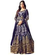 High Quality Heavy Embroidery Anarkali Suits Semi-stitched