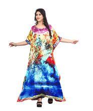 Casual Wear Women Satin Silk Kurta
