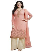 Party Wear Salwar Kameez With Patiala Pant / Palazzo Pant