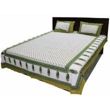 Cotton Kantha Bedsheet