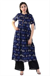 Exclusive Printed Style Indian Kurti For Women And Grils