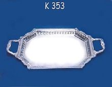 Silver Plated Room Service Tray