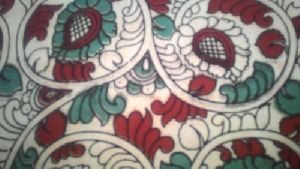 Kalamkari Printed Bottom Dupatta