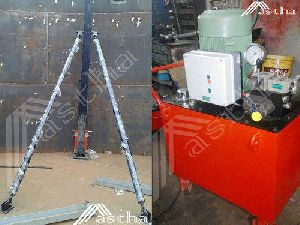 Saudi Arabia Hydraulic Jack For Lifting Tank