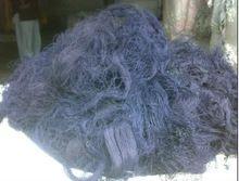 Cotton Blue Denim Thread Waste