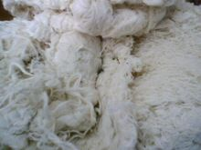 White Cotton Hard Waste