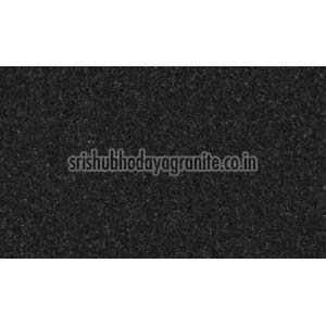 Jet Black Granite Slab