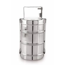 Steel Tiffin Three Tier Box
