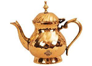 Brass Lining Design Mughlai Tea Pot