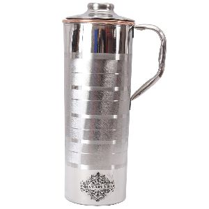 Steel Copper Luxury Fridge Bottle With Handle 900 Ml