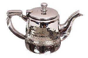 Steel Hammered Design Milk Pot Serving Milk Mixing Tea 650 Ml
