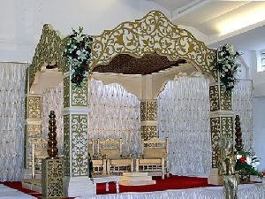 Manufacturer Of Wedding Fiber Stage From Saharanpur Uttar Pradesh By Chilli Fry International