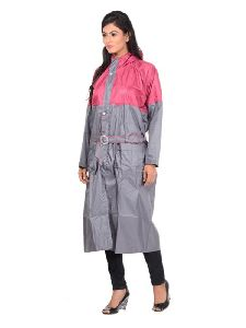 Womens Long Raincoat