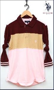 Men's Full Sleeve Polo T-shirt
