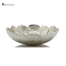 Aluminium Leaf Bowl Large