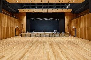 Auditorium Wooden Flooring Services