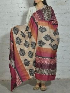 Chanderi Tussar Silk Dupatta