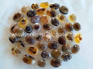 Natural Shajri Agate Stones