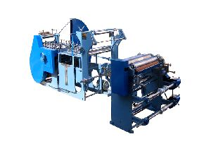 Large Size Paper Bag Making Machine