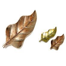 Brass Leaf Serving Tray