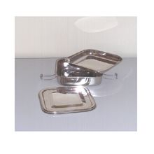 Stainless Steel Square Lunch Box