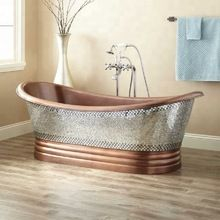 Copper Bathtub With Nickel Plating