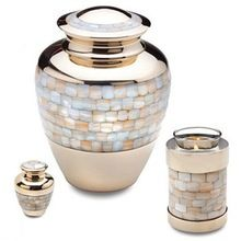 Decorative Tealight Cremation Urn