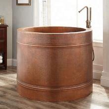 Hammered Bath Tub