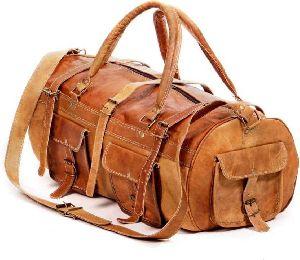 Handmade Leather Duffle Bags
