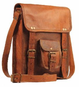 Handmade Leather Messenger Laptop Bags