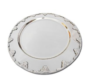 Silver Plated Serving Plates