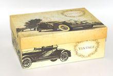 Custom Vintage Style Luxury Decorative Cardboard Drawer Packaging Gift Box